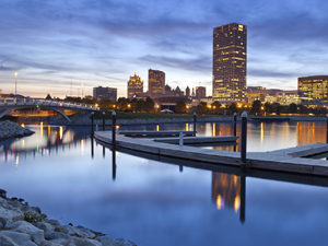 City of Milwaukee skyline