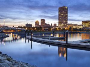 City of Milwaukee skyline