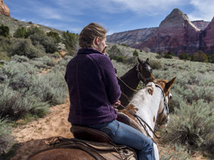 Horseback Riding in Zion National Park