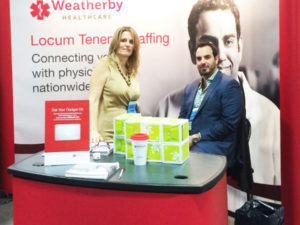 Weatherby Healthcare reps attend AANS annual meeting