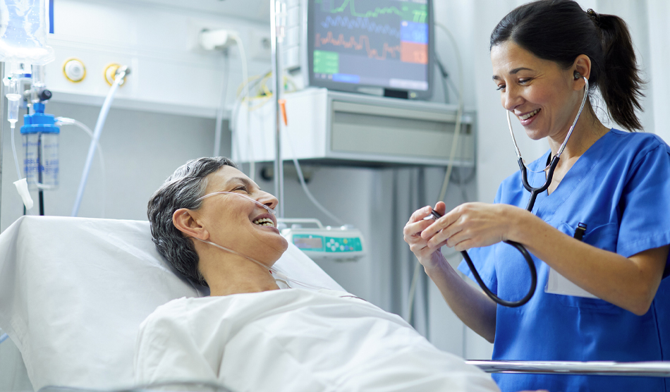 Physician improving the patient experience