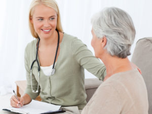 Weatherby Healthcare - locum tenens for nurse practitioners - featured image of nurse practitioner in patient consultation
