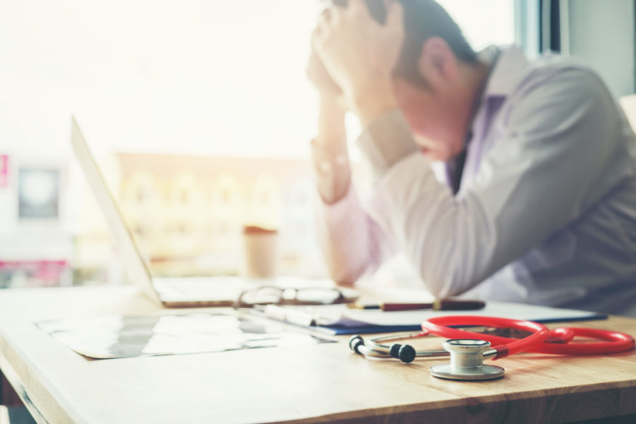 the emotional cost of medical malpractice liability for