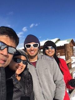 Bhadriraju family in Alaska
