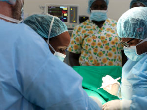 Locum tenens OB/GYN on medical mission