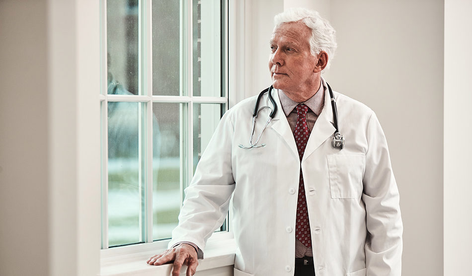 Negative effects of physician workload on mental health