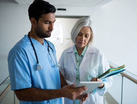 Physicians consulting