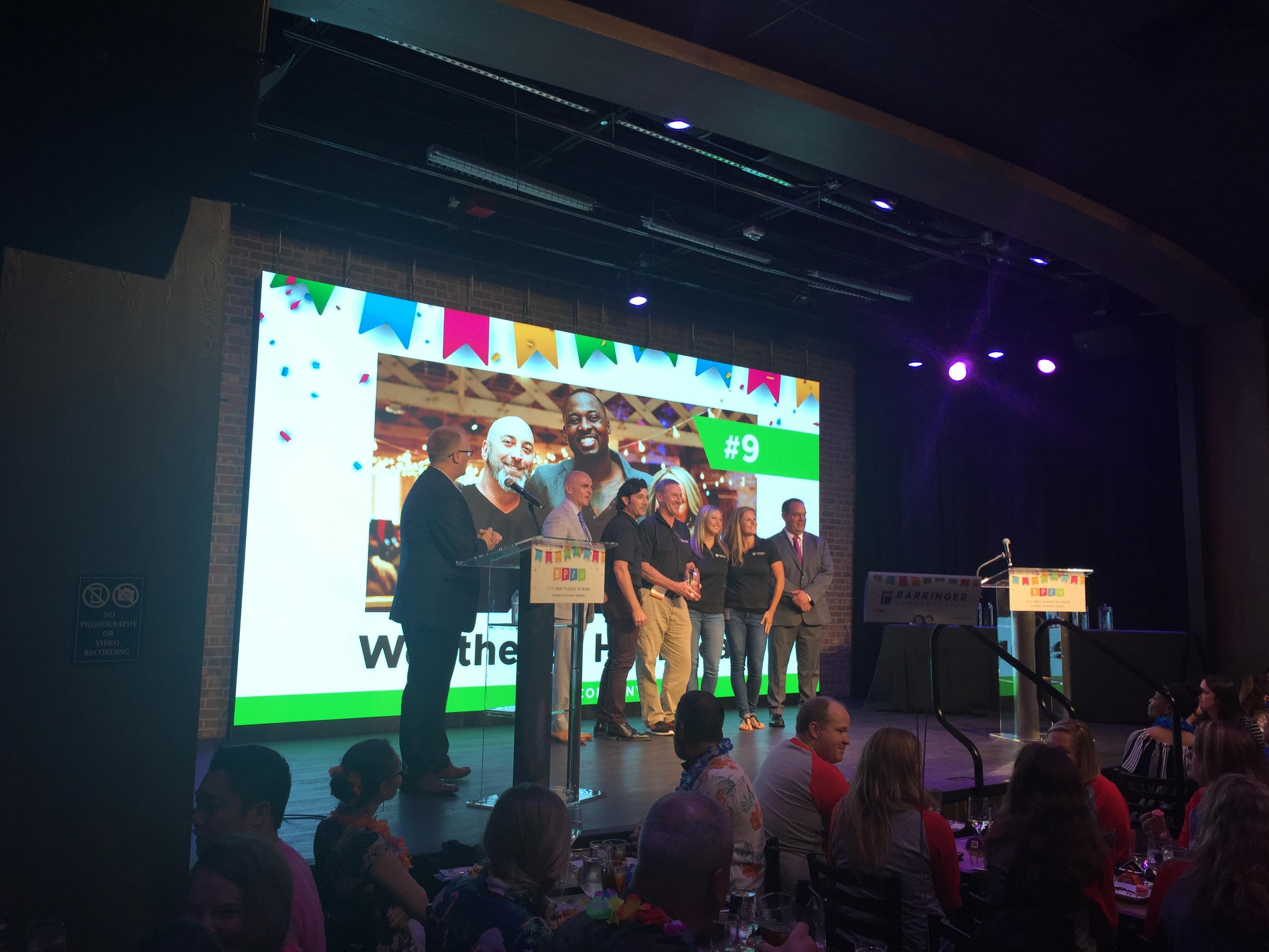 Weatherby employees win award