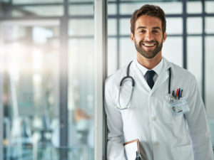 physician enjoying the benefits of locums