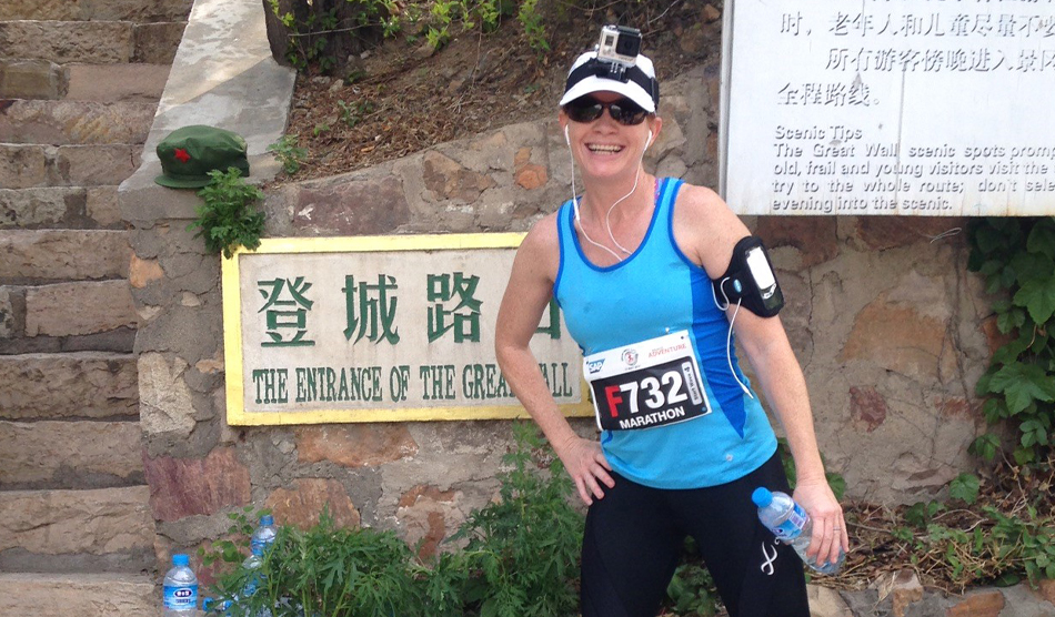 Locum tenens nurse practitioner Desiree Metzger-Cihelka at Great Wall