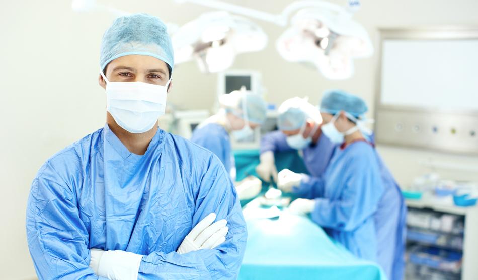 Surgeon working locum tenens