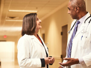 physicians enjoying clinician satisfaction and retention