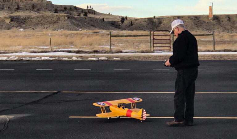 locum tenens rheumatologist enjoying an RC model airplane