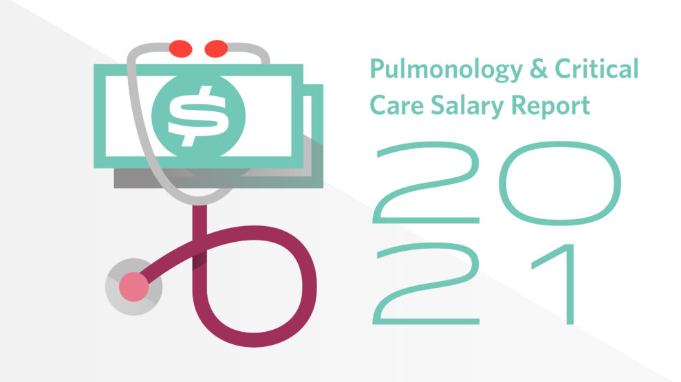 Illustration for Pulmonology and critical care salary report 2021
