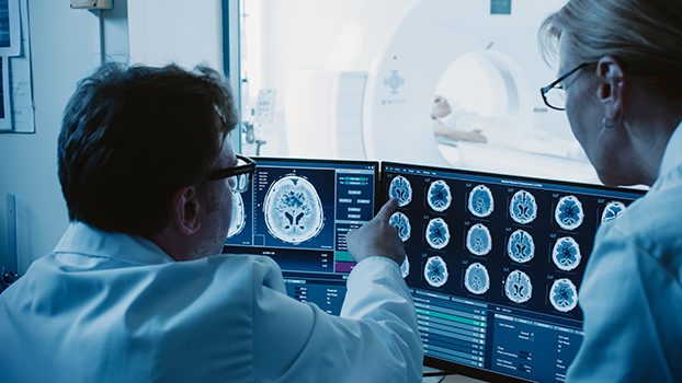 locum tenens neurologists view and discuss radioloy results